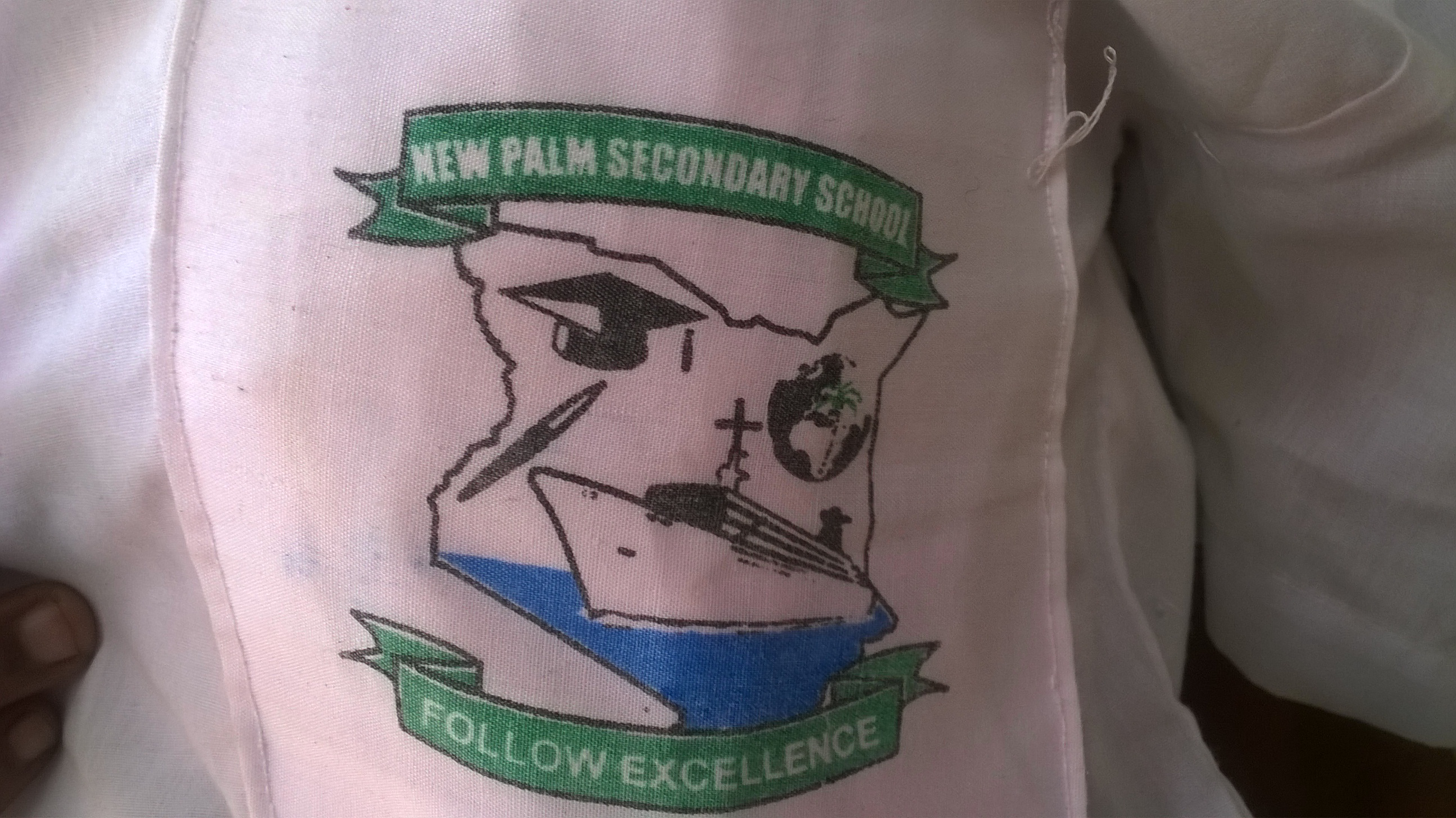 New Palms Secondary School logo